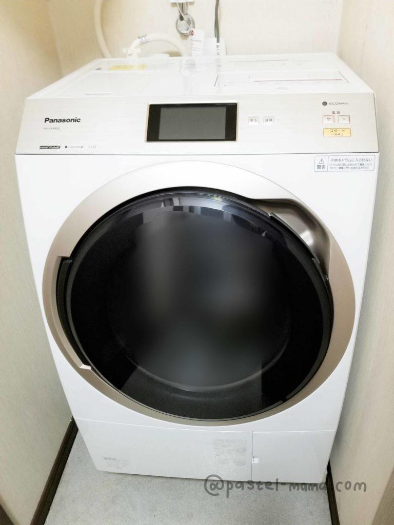 ドラム式洗濯機パナソニックNA-VX9900本体