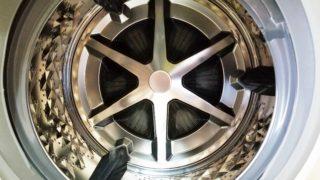 ドラム式洗濯機パナソニックNA-VX9900ドラム内
