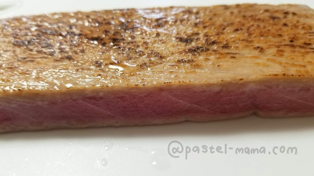 炙りマグロの刺身