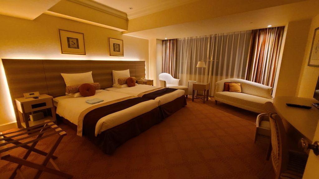 ホテルオークラ東京ベイで宿泊したデラックスルーム