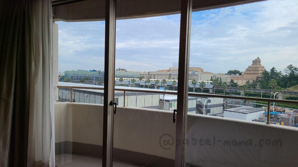 シェラトン・グランデ・トーキョーベイ・ホテルのジャパニーズスイートから見える景色