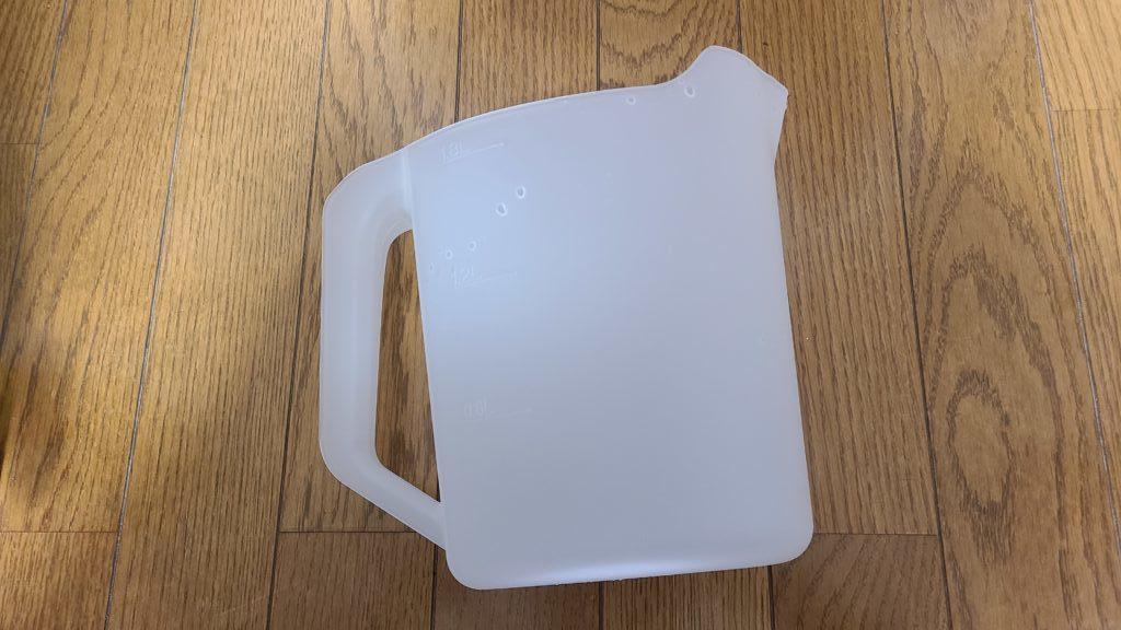 アイリスオーヤマ食洗機の付属品、給水カップ