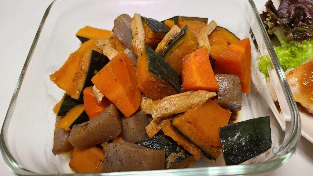 ホットクックで作ったかぼちゃのうま煮