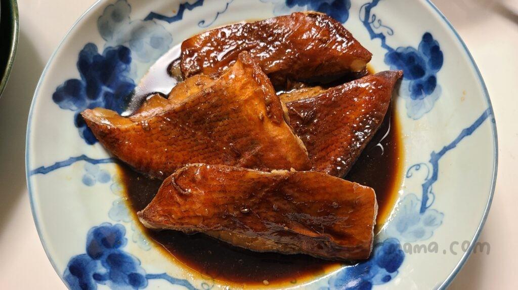 ホットクックで作った煮魚